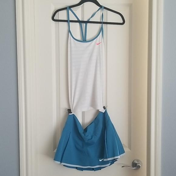 Nike Tennis Top and Skirt Set